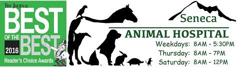 Seneca Animal Hospital Best of the Best Logo